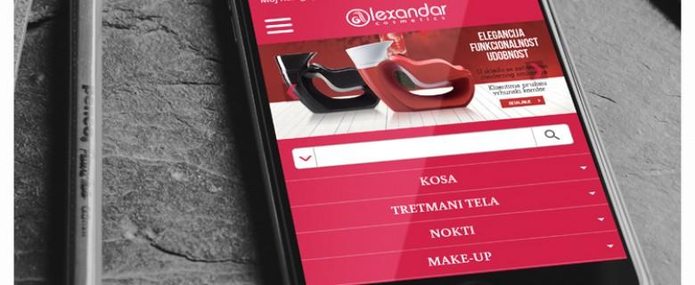 Alexandar Cosmetics mobile
